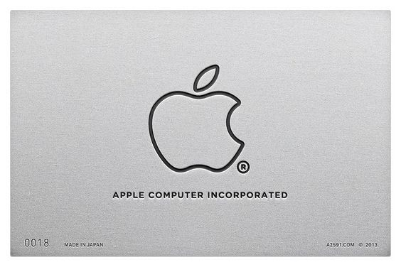 Apple minimalista
