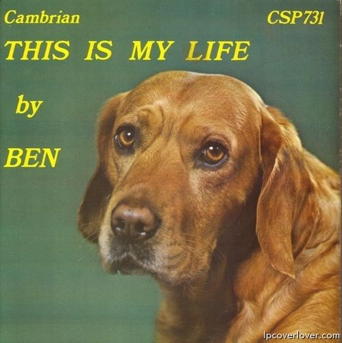 This is My Life by Ben – vintage album cover; dog