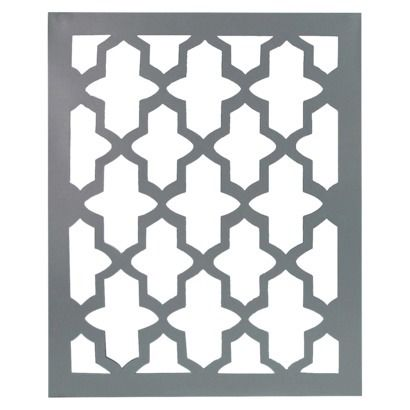 Laser-Cut Mirrored Tile,  I love the green too.