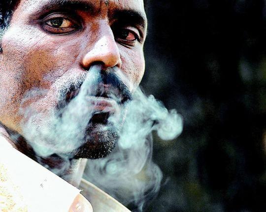 smoking in India