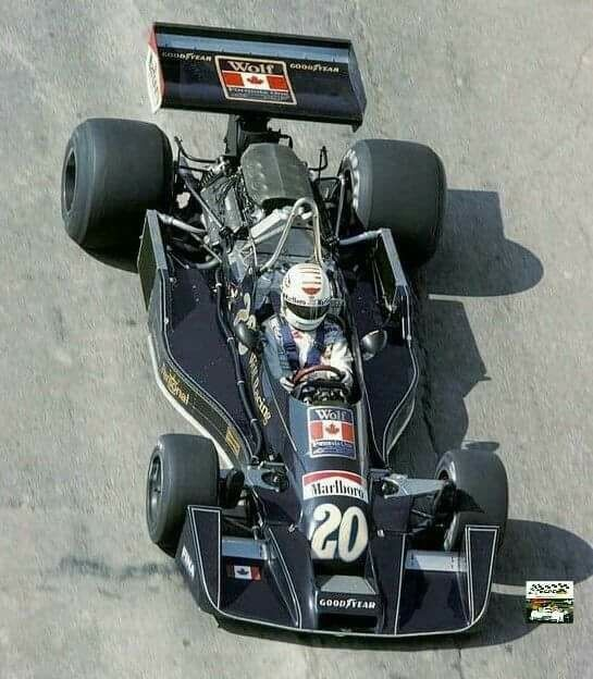 A Hesketh Ford 308 C Rebadged When Walter Wolf Bought Hesketh Ford
