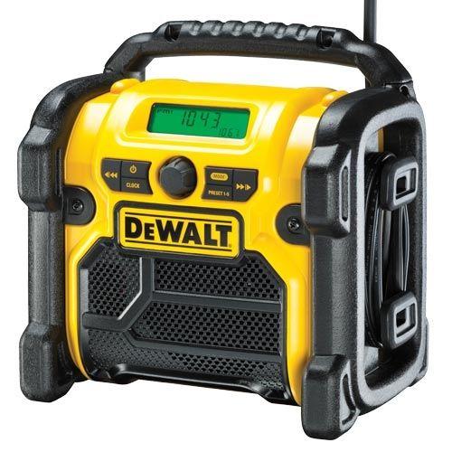 Dewalt Dcr020 220v Xr 10 8v 14 4v 18v Dab Fm Compact Digital Radio Digital Radio Site Radio Dab Radio