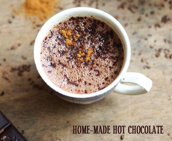 yummy homemade hot chocolate recipe