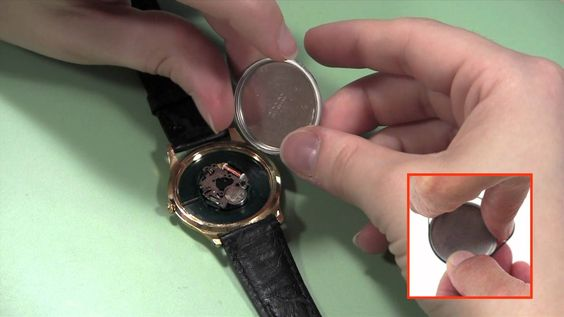 how to open a bulova watch back