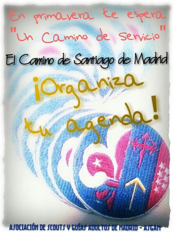 """Promoción del Proyecto """"Un Camino de Servicio"""". El Camino de Santiago de Madrid con ASGAM"""