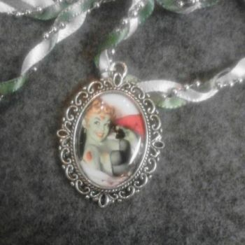Zombie Pinup Necklace at the Shopping Mall, $20.00 (USD)