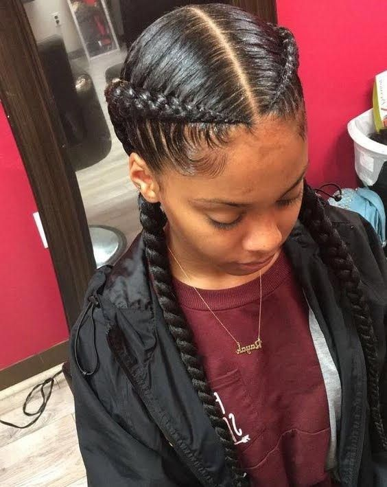 20 Ideas For Bob Braids In Ultra Chic Hairstyles Goddess Braids Hairstyles Sleek Braid Hair Styles