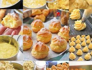 Resep Soes Vla Durian Durian Choux Yummy Oleh Tintin Rayner Resep Resep Makanan Enak Resep Masakan