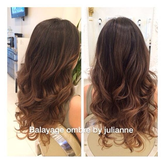balayage ombre on dark hair straight , Google Search