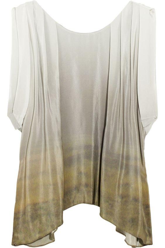 Darwin Morning Fog blouse by Julie Haus