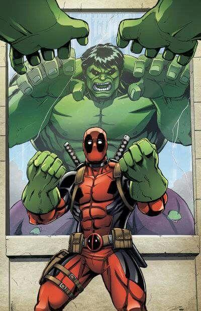 Deadpool-The hulk