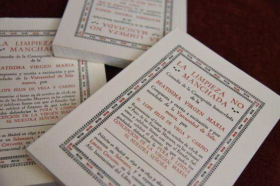 Resultado de imagen de La Universidad de Salamanca edita un facsímil de 'La Limpieza no manchada', de Lope de Vega, al cumplirse cuatro siglos desde su estreno