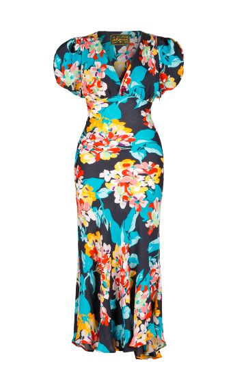 Lena Hoschek: Spring/Summer 2013 Collection--Mamasita Dress tropical IN FREAKING LOVE