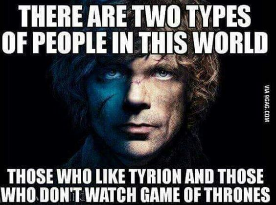 Two types of people? How is that possible?