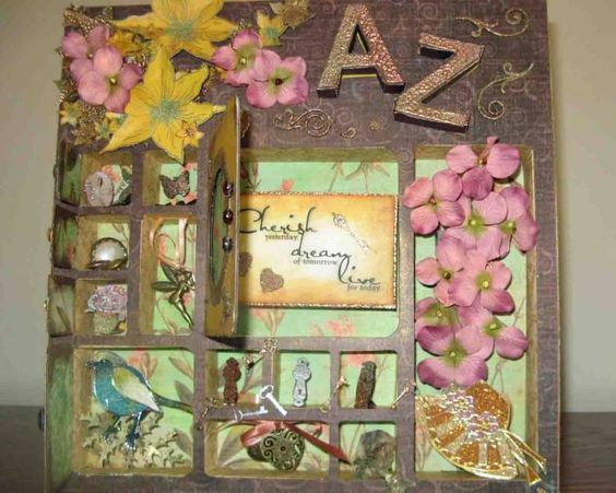Shadow Box by shortonideas - Cards and Paper Crafts at Splitcoaststampers