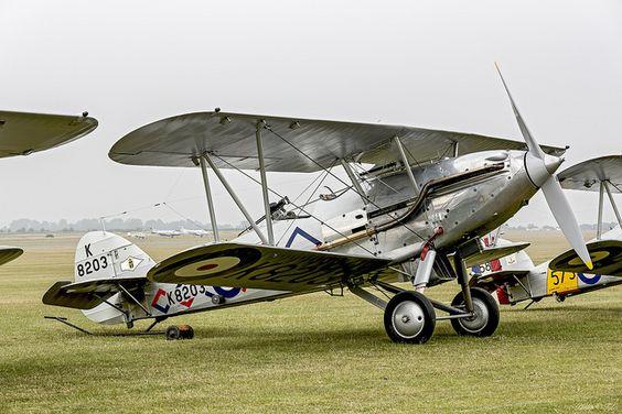Hawker Demon #biplane #1920s