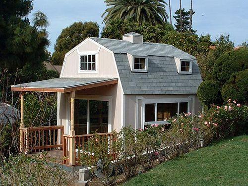 A great custom made guest house Custom Buildings