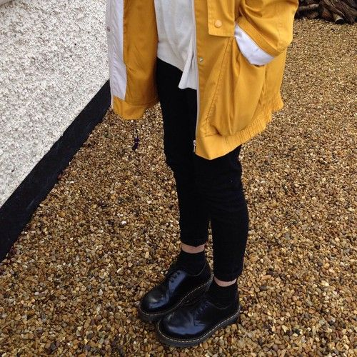 with yellow hunter wellies this would look so cute in autumn