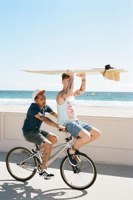 boys, surfing, tattoos <3