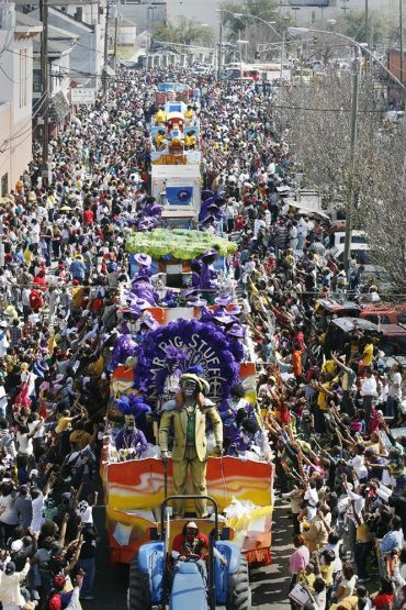 """... I think that I may say that an American has not seen the United States until he has seen Mardi Gras in New Orleans."" - Mark Twain:"