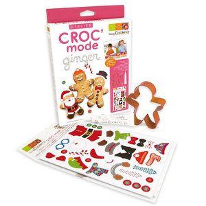 ScrapCooking ® - Kit création et décor de pain d'épices - Croc'mode ginger