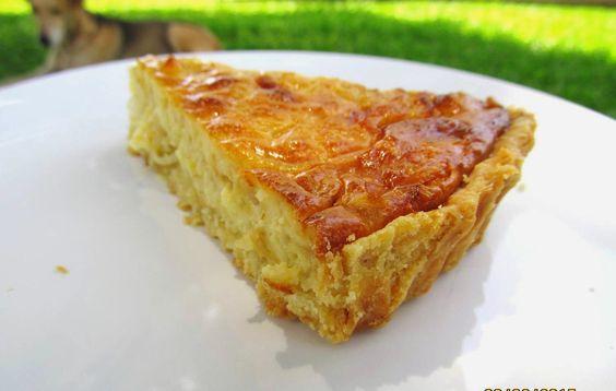 Chocorango: Torta de Cebola e Requeijão