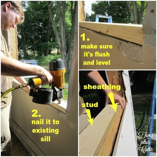 Installing A New Construction Window House Pinterest And Home Repairs