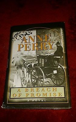 nice A Breach Of Promise by Anne Perry 1998 Hardcover Book Novel HC DJ VG Cond. - For Sale