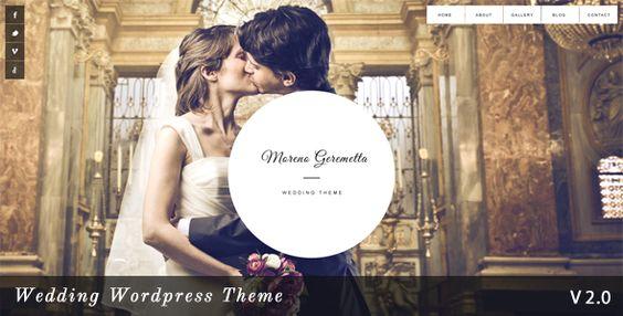 12 Cool Wedding WordPress Themes | EmBlogger