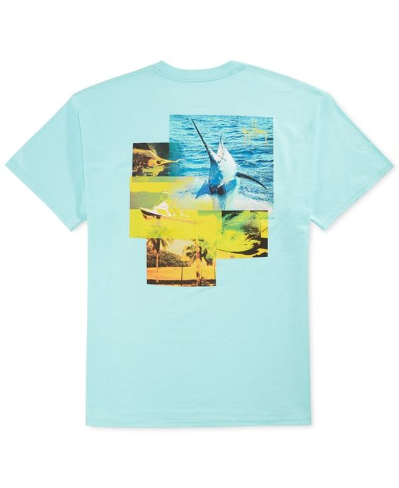 Guy Harvey Tropical Star Graphic T-Shirt