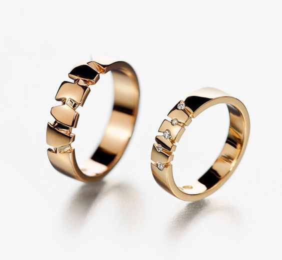 unique matching wedding bands wedding ring set for him