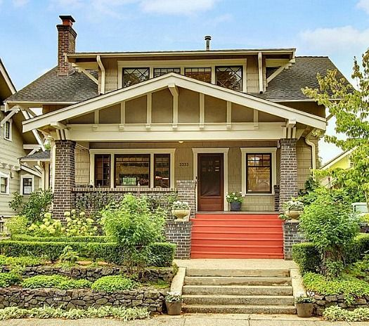 Craftsman, Seattle And Bungalows On Pinterest