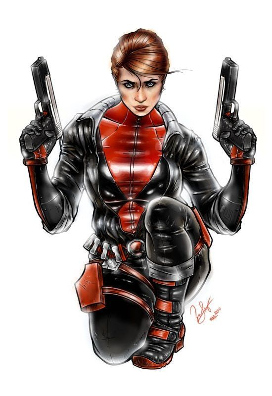 Black Widow Look