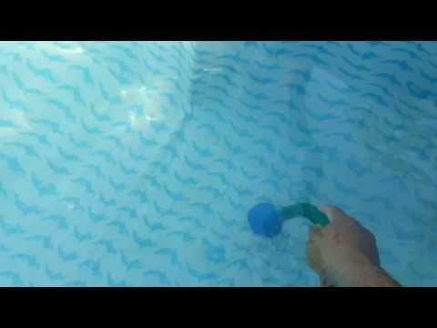 Como Limpiar El Fondo De Una Picina En Forma Artesanal Youtube Aspiradora Para Piscina Filtro De Agua Casero Limpiar