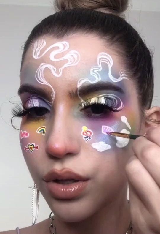 Charliewbowen In 2020 Crazy Makeup Face Art Makeup Artistry Makeup