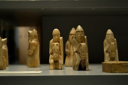Viking Chess Pieces British Museum Photo by Dan Thomas — National Geographic