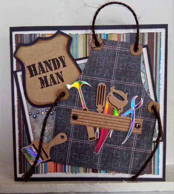 Made by Nicolette: Kaart met gereedschap