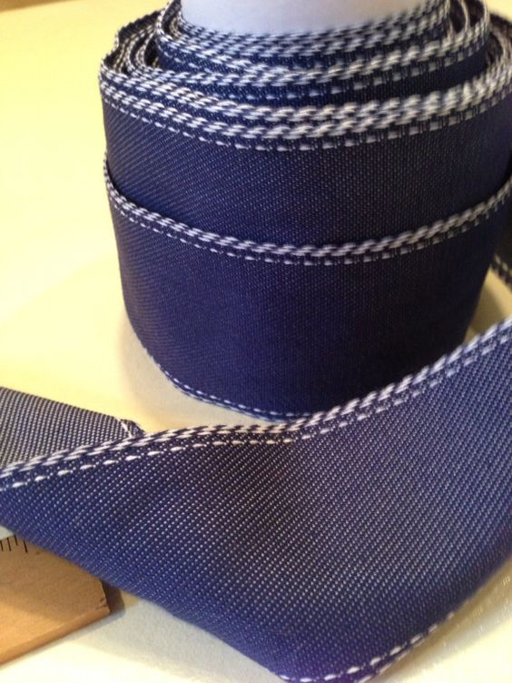 Oxford Ribbon by Measureafabricparlor on Etsy, $6.00