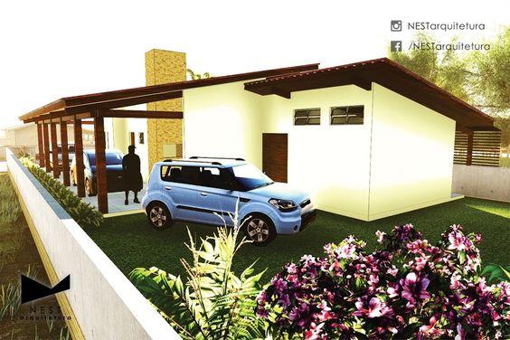 2|2 CASA CB - Estudo de residência unifamiliar na praia de Campo Bom, Jaguaruna - SC