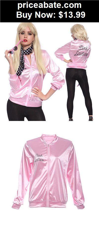 Women-Costumes: Halloween Pink Lady Jacket Women Fancy Dress ...