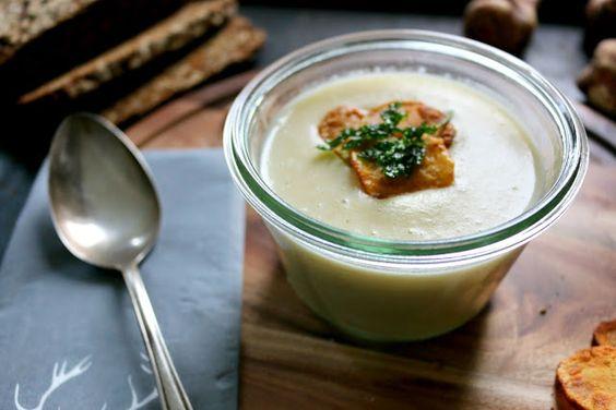 Herbstliche Topinambur-Suppe