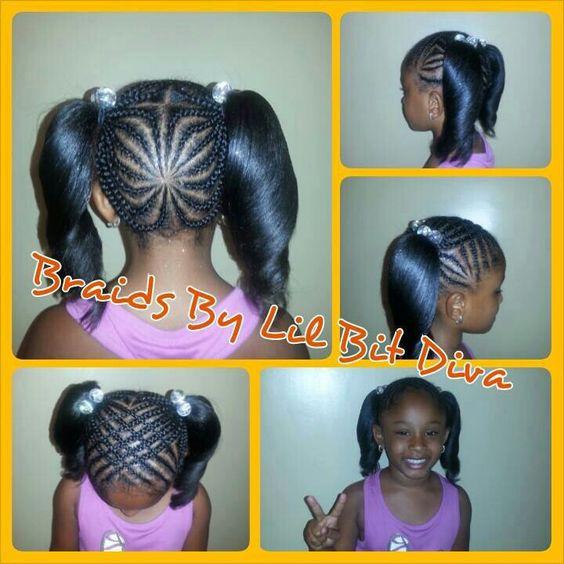 Brilliant Little Girl Hairstyles Hairstyle Braid And Girl Hairstyles On Short Hairstyles For Black Women Fulllsitofus