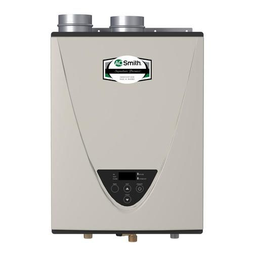 Shop A O Smith Signature Premier 6 6 Gpm 160000 Btu Indoor Natural Gas Tankless Water Heater Gas Water Heater Tankless Water Heater