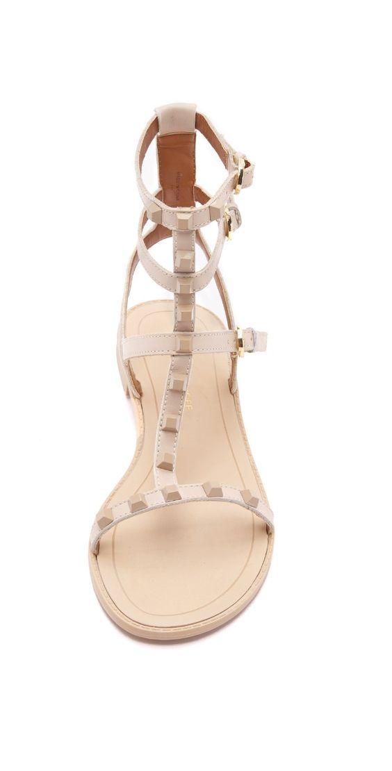 Rebecca Minkoff Georgina Studded Sandals | SHOPBOP