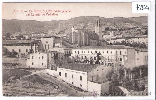 BARCELONA - VISTA GENERAL DEL CASERIO DE PEDRALBES