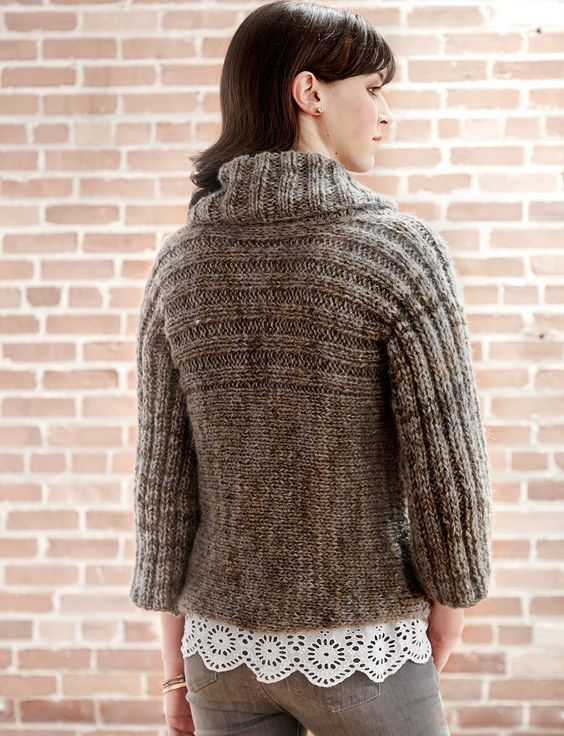 Patons Chunky Knitting Patterns : 17 Best images about Neck Knitting Free pattern, Sleeve and Cowl neck