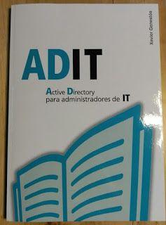 Review Libro ADIT - Active Directory para administradores de IT.