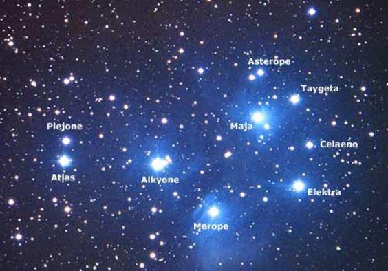 Plejady - gromada gwiazd widoczna gołym okiem | tylkoastronomia.pl - kosmos…