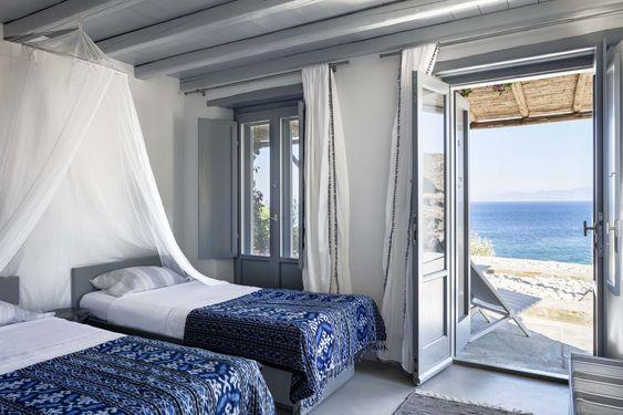 寝室 地中海インテリア コーディネート例