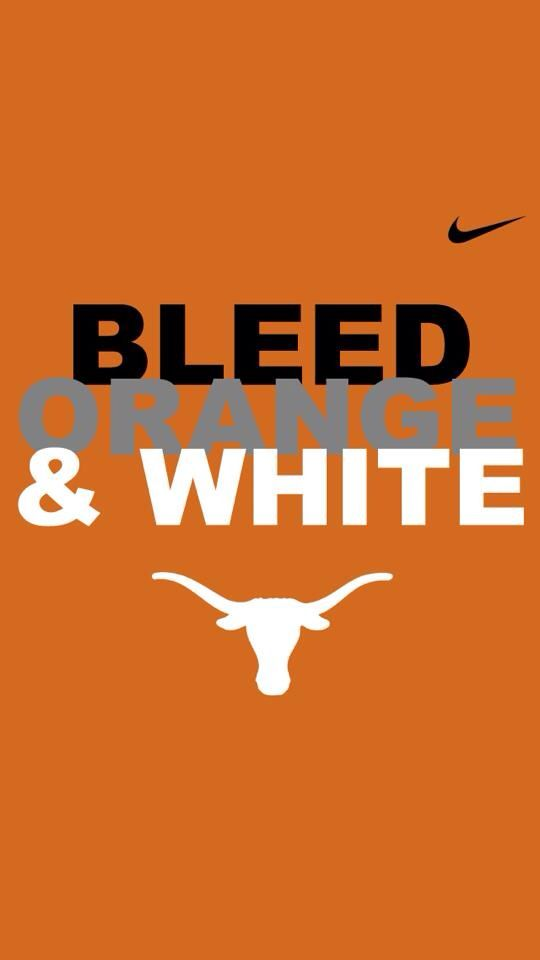 Bleed Orange and White...Texas Longhorns! UT VS. UCLA tomorrow! Come watch the game in our clubhouse!